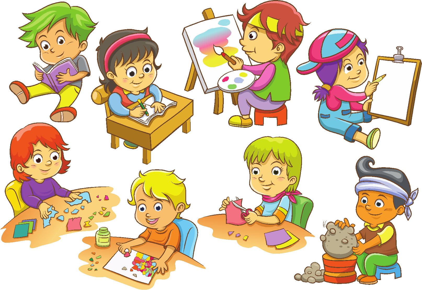 image black and white download  fun activities for. Kids not sharing clipart