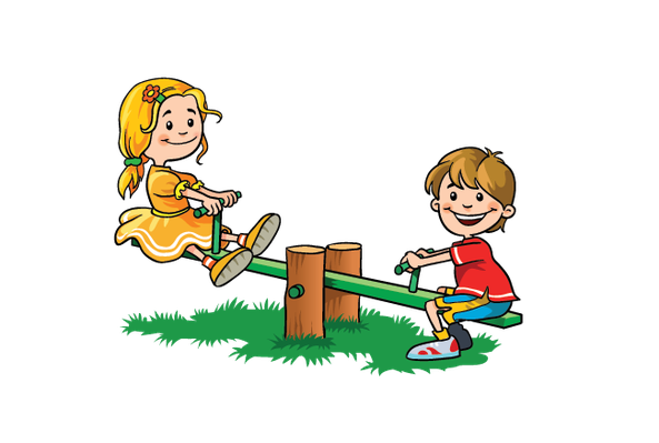 clip black and white stock Children at play the. Kids playing clipart.