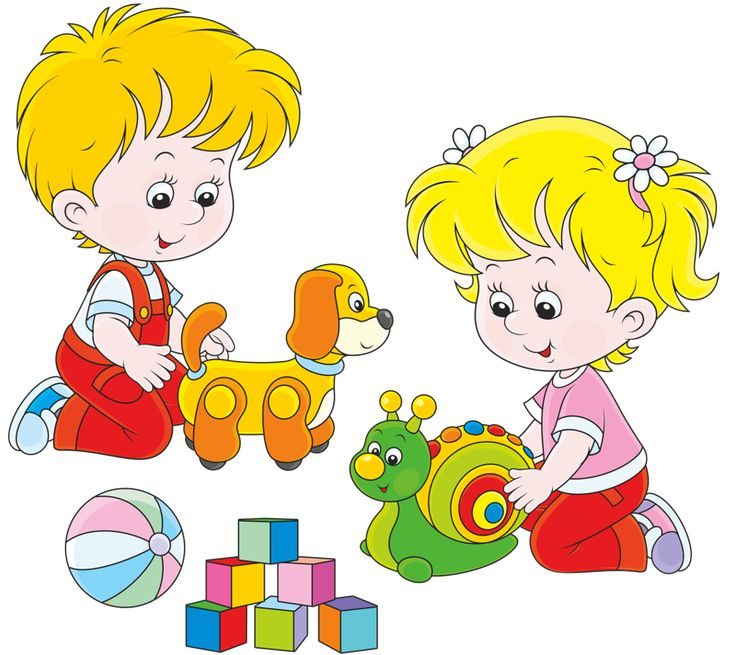 jpg library stock Kids playing with toys clipart.  fc e a.