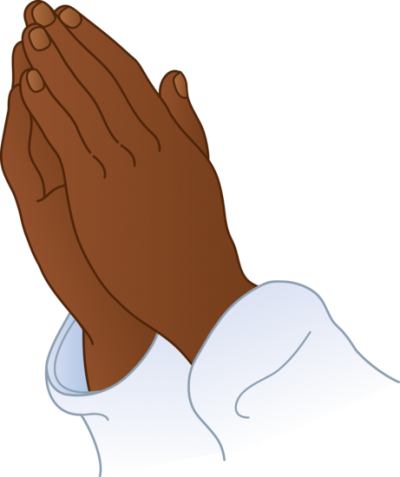vector freeuse Children praying hands clipart. Page clipartaz free collection