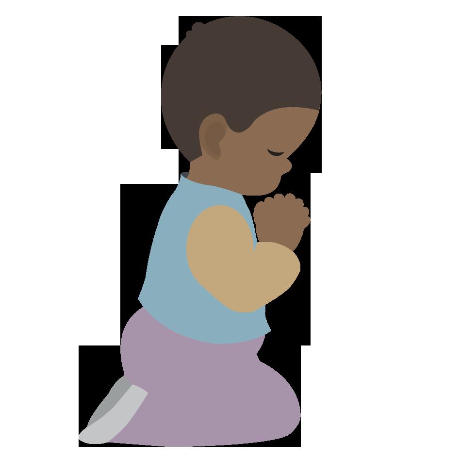 svg royalty free stock Prayer child clip art. Free clipart of praying hands