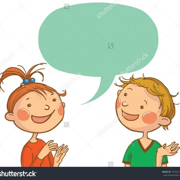jpg library Collection of free conversationed. Clipart kids talking