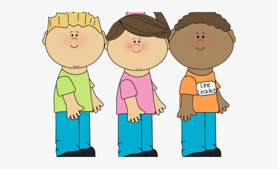 free library Children waiting clipart. Wait in line transparent.