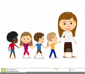 banner transparent download Children free images at. Students walking in line clipart