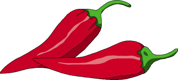 black and white Hot pencil and in. Chili clipart flaming.