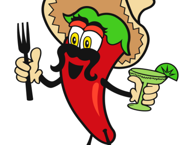 clipart transparent library Chili clipart pepper spanish. Mexican lunch free on.