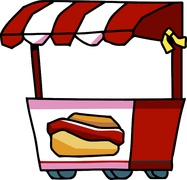 image Hot dog cart Chili dog Hot dog stand Clip art