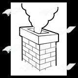 svg transparent download Chimney clipart brick chimney. Abeka clip art red.