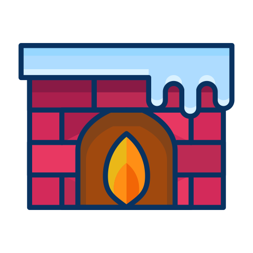 graphic freeuse library fireplace
