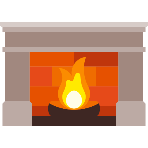 image royalty free download Chimney clipart hearth. Fireplace living room furniture.