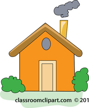 banner With portal . Chimney clipart house chimney