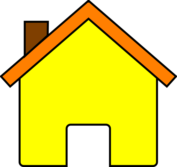 image download Yellow clip art at. Chimney clipart house chimney