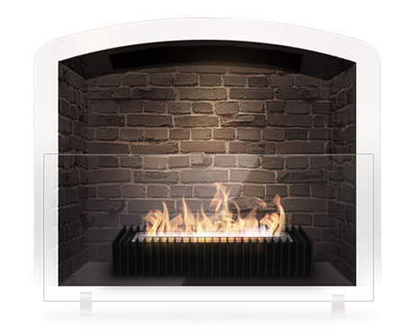clipart free stock Eco fireplace grate