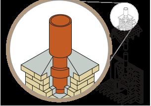 vector free download Chimney Pots