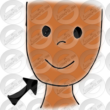 clip freeuse download Picture for classroom therapy. Chin clipart body part.
