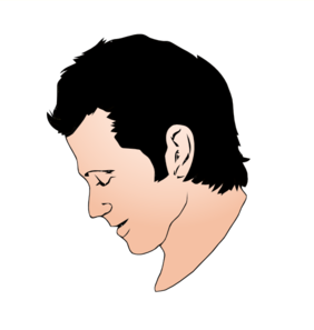 free download Man face clip art. Chin clipart boy side view.