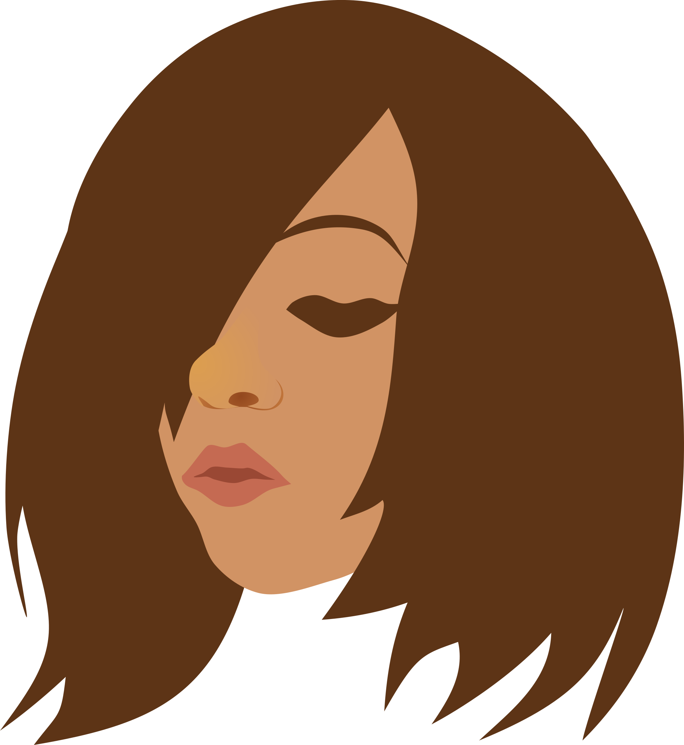jpg transparent library Transparent free on dumielauxepices. Hair clipart hair emo