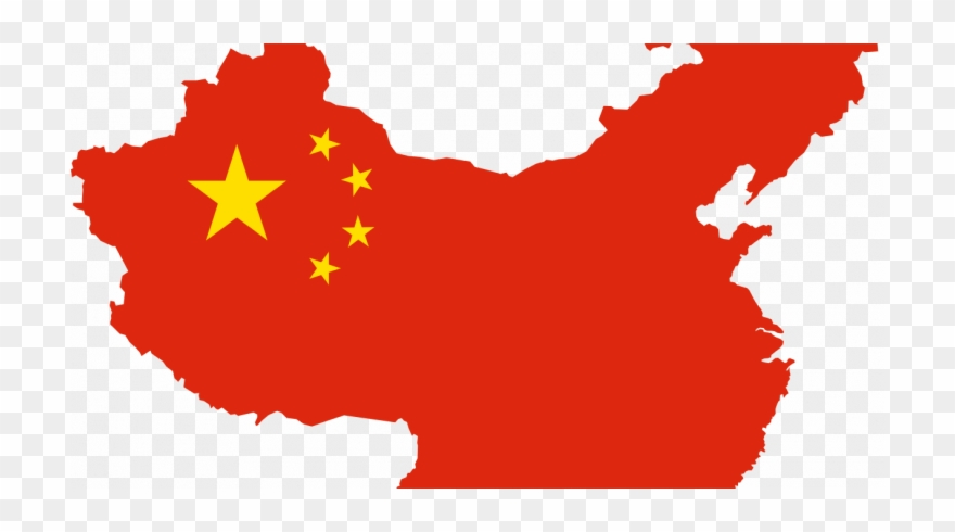 image download Is slowing down map. China clipart.