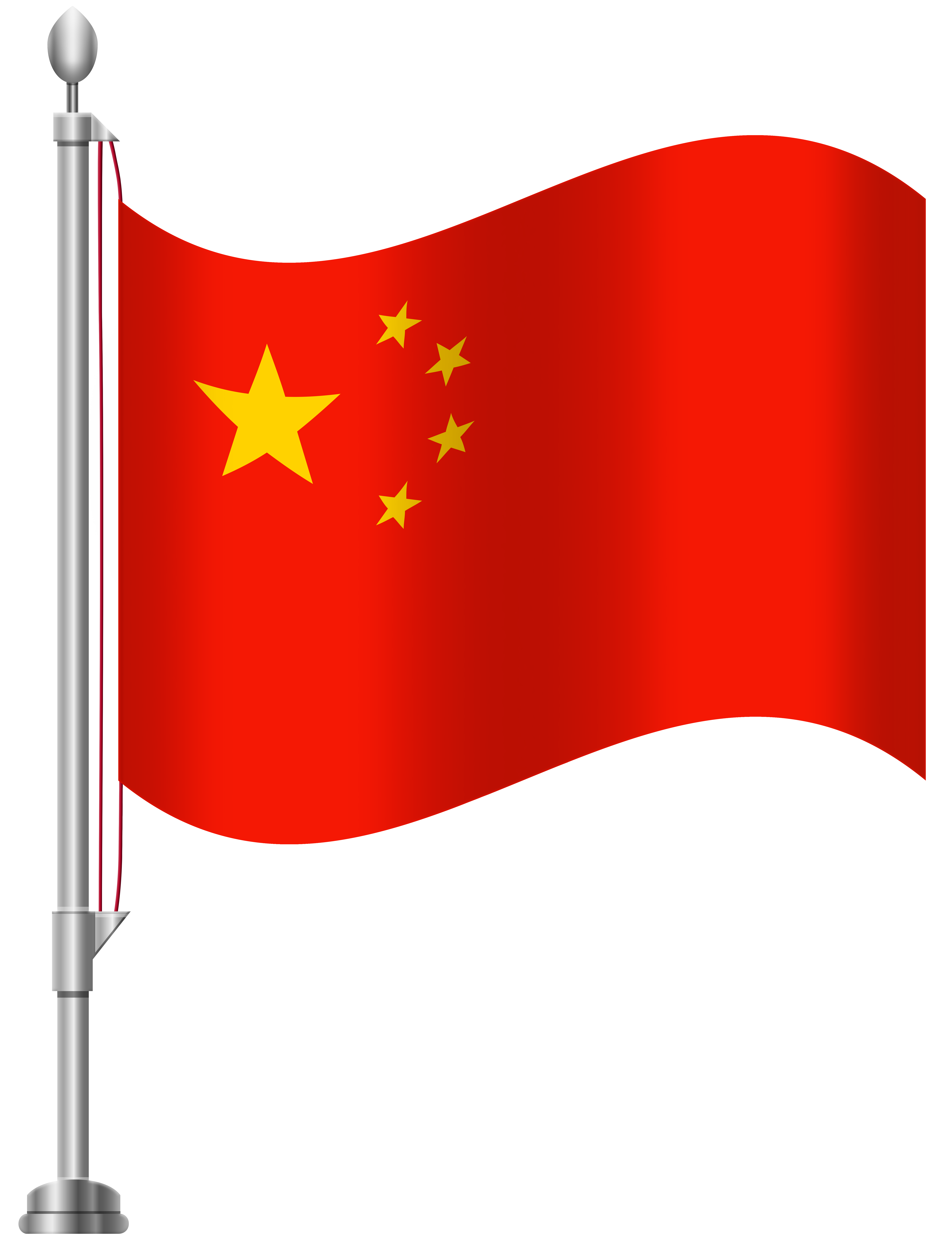 clip art China Flag PNG Clip Art
