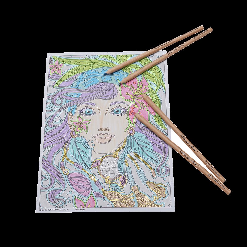 free download Ultimate Artist Colored Pencil Portfolio