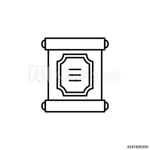 image free Chinese paper icon simple. China vector scroll