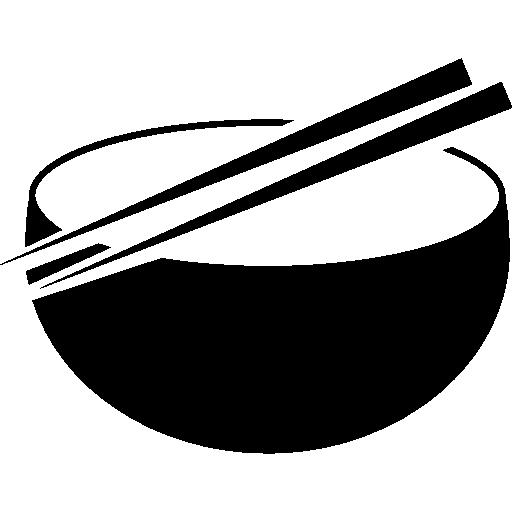 clip art free Chinese clipart chopstick japanese. Bowl and chopsticks free.
