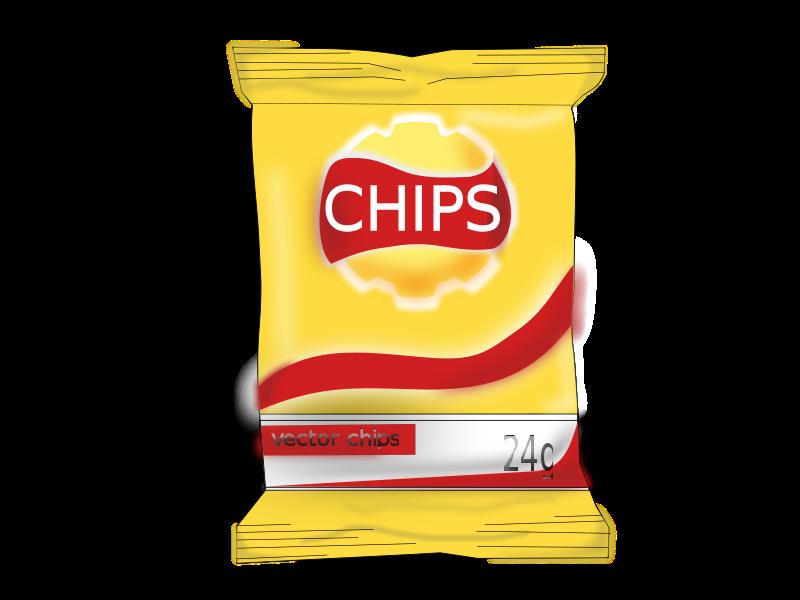 clipart transparent library Free Potato Chips Clip Art
