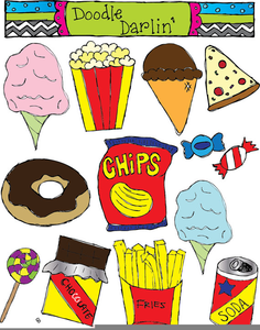 vector royalty free download Chip clipart fast food. Transparent free for .