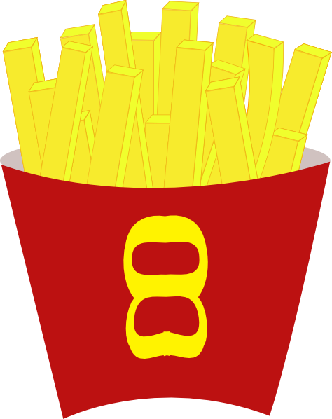 clip art free download French Free Fries Clip Art at Clker