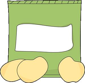 jpg transparent download Bag of Potato Chips Clip Art