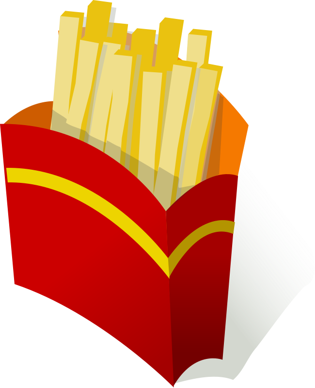transparent Chip clipart unhealthy food. Potato chips free on.