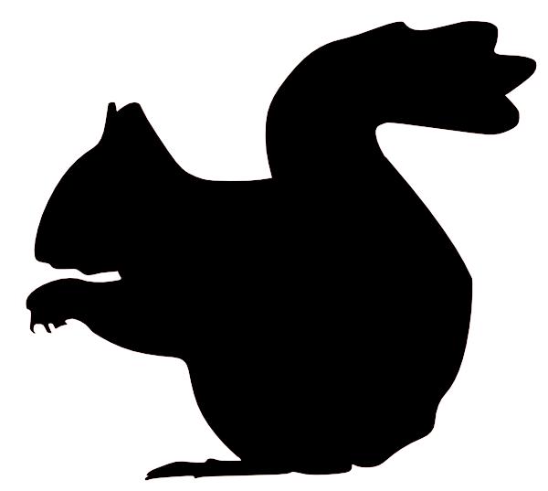 clipart download Transparent . Chipmunk clipart silhouette.