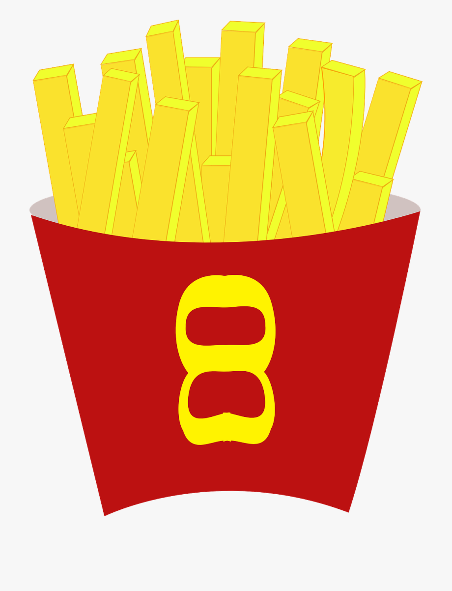 picture freeuse French fries food free. Chips clipart