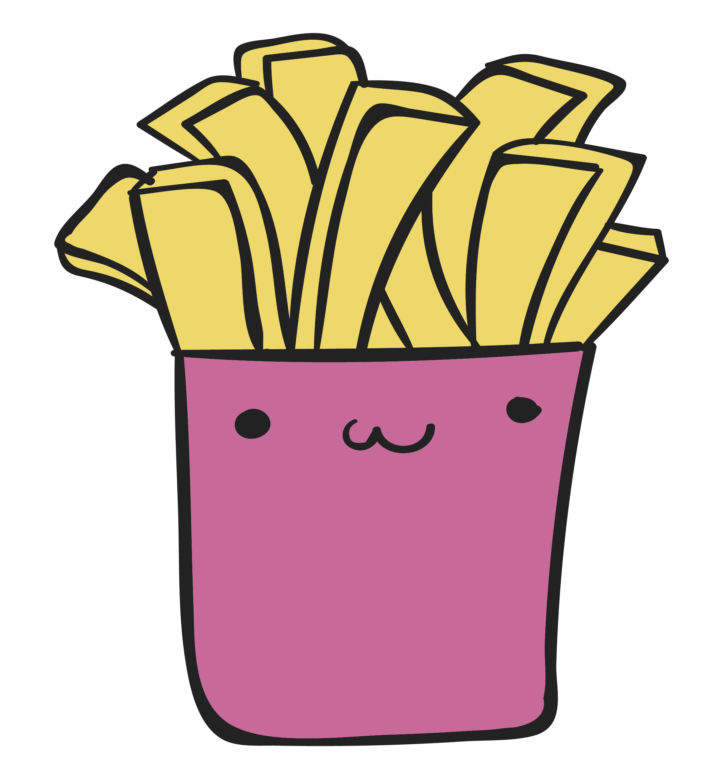 image transparent stock French fries junk food. Chips drawing transparent