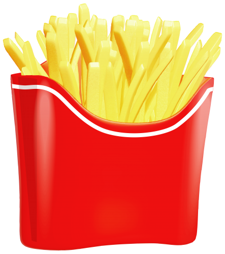 free download Chips clipart fry mcdonalds. French fries png decorative.