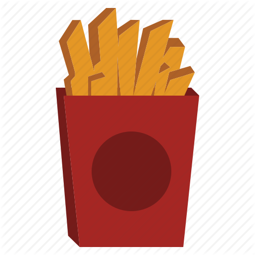 svg black and white download Food and drink by. Chips clipart fry mcdonalds.