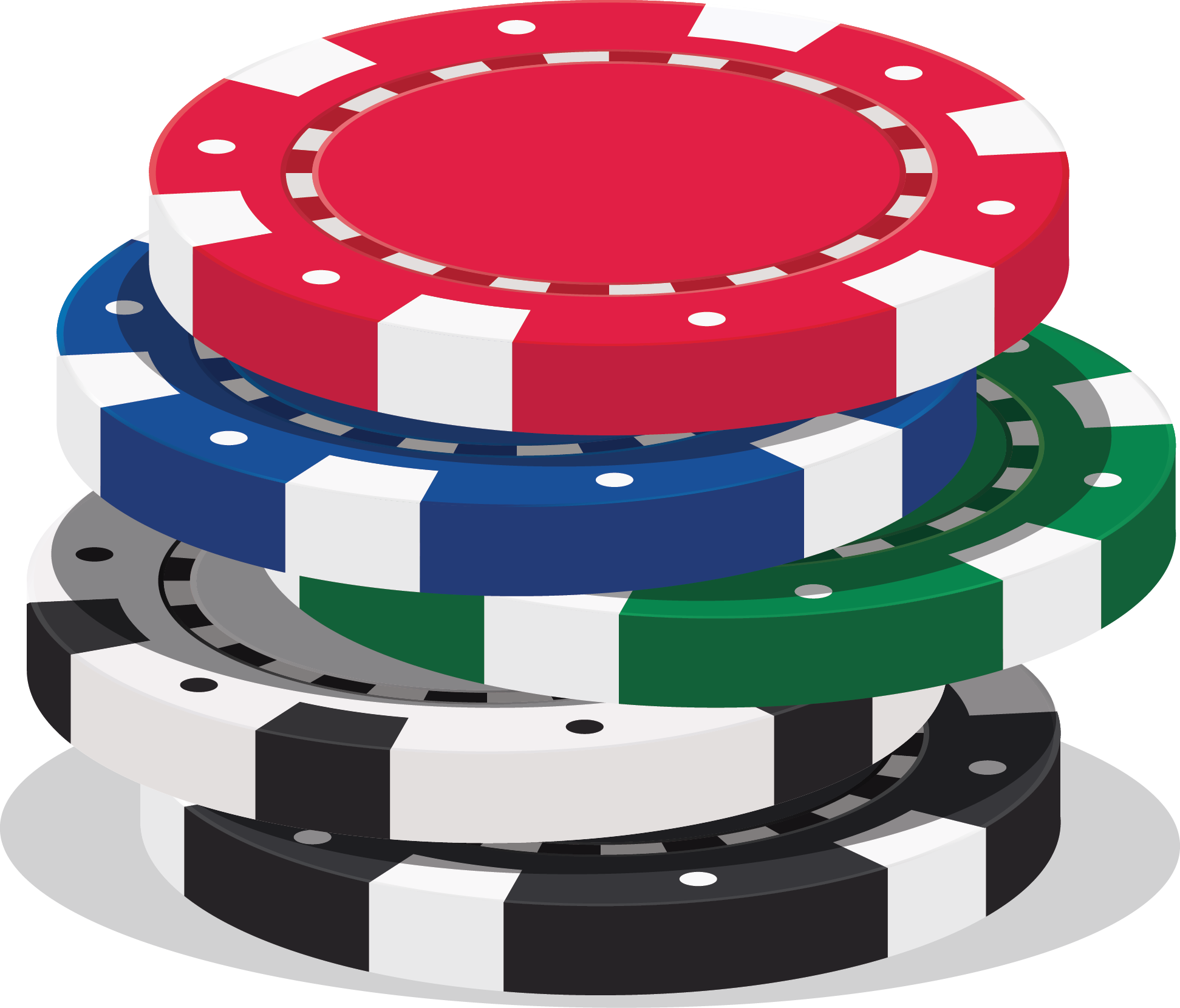 picture Chip stack chrysalis. Chips clipart poker.