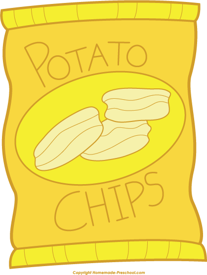 graphic download Free picnic click to. Chips clipart pop art.