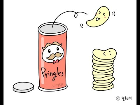 graphic library download  how to draw. Chips drawing pringle