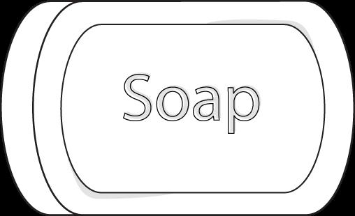 vector free library soap clip art