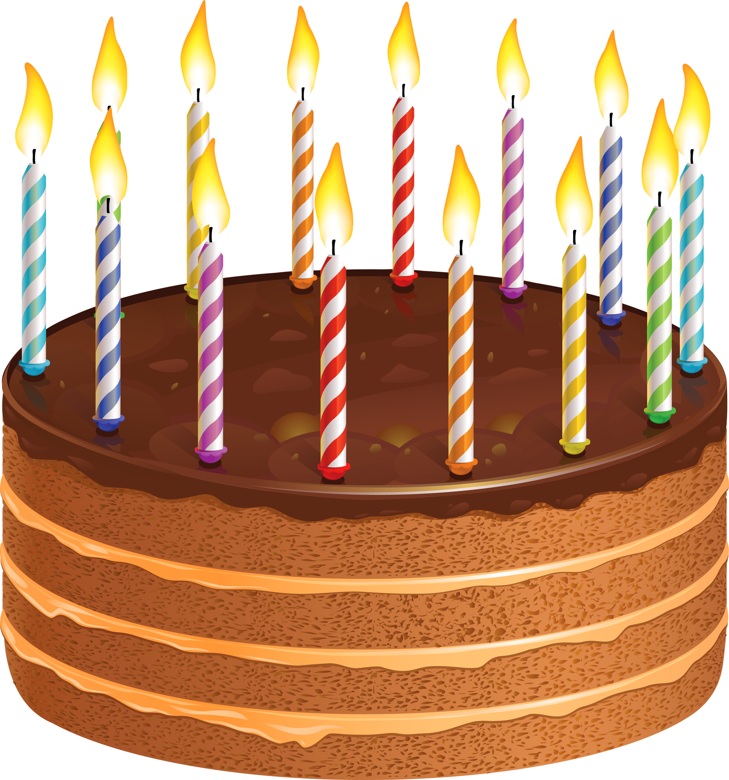 jpg library download Chocolate transparent birthday. Cake with candles png