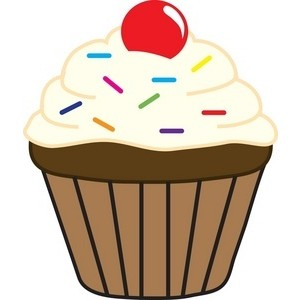royalty free library Cupcakes jpg . Chocolate cupcake clipart.