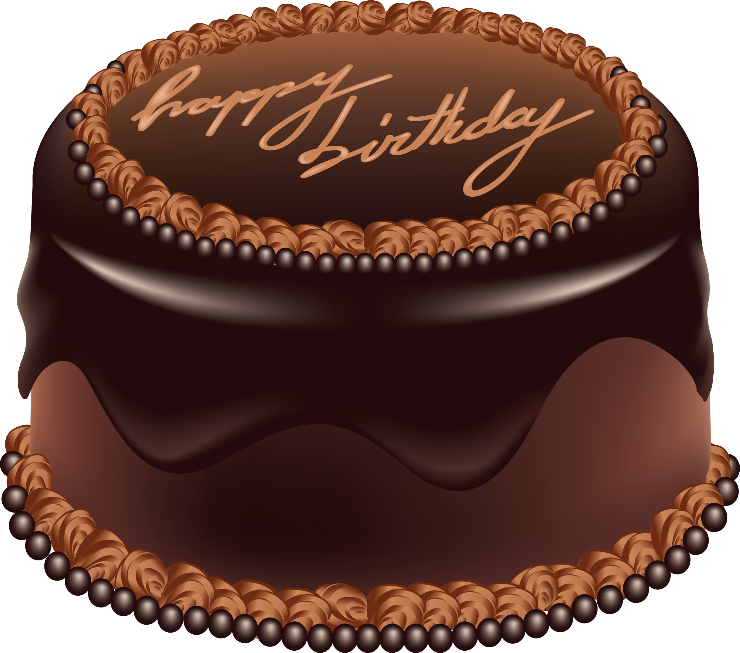 clip art royalty free download Chocolate transparent birthday. Cake happy art png