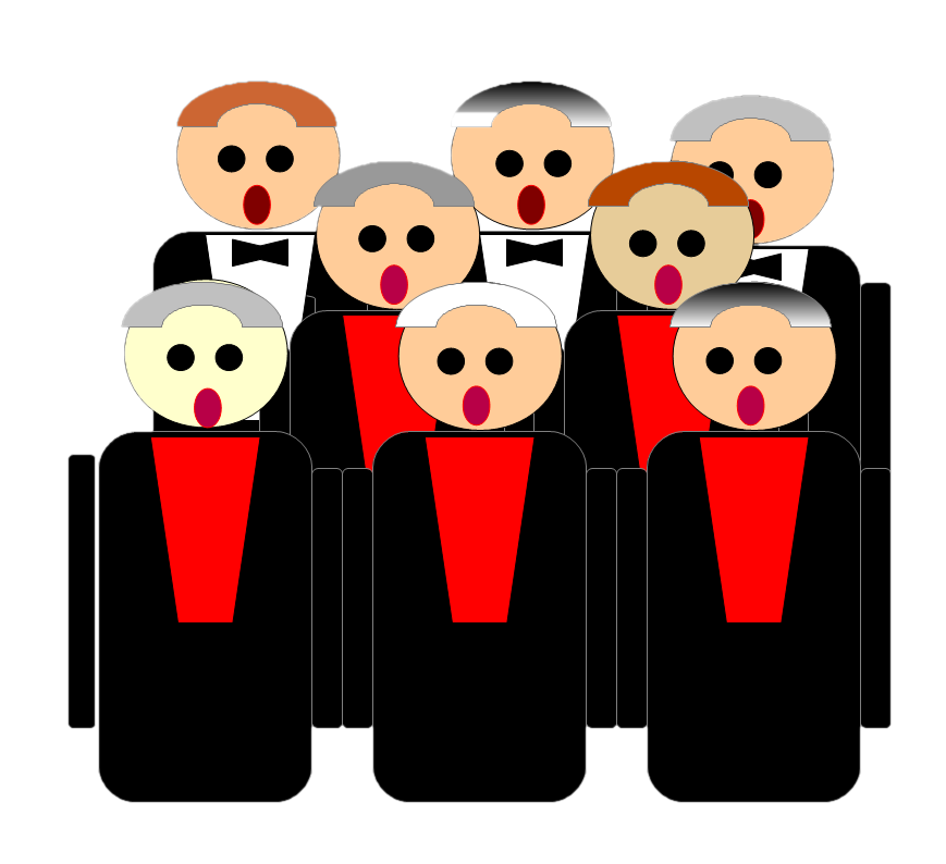 jpg freeuse stock Choir clipart. Pictures mill hill shul