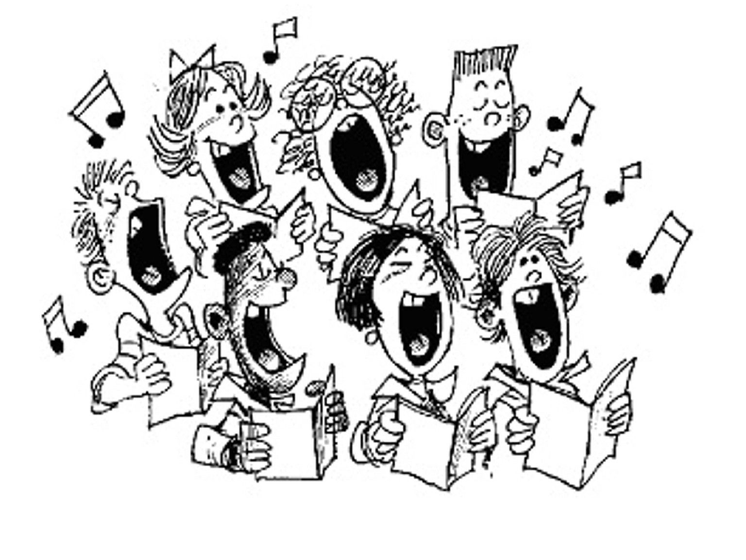 clipart royalty free download I was in for. Choir clipart.