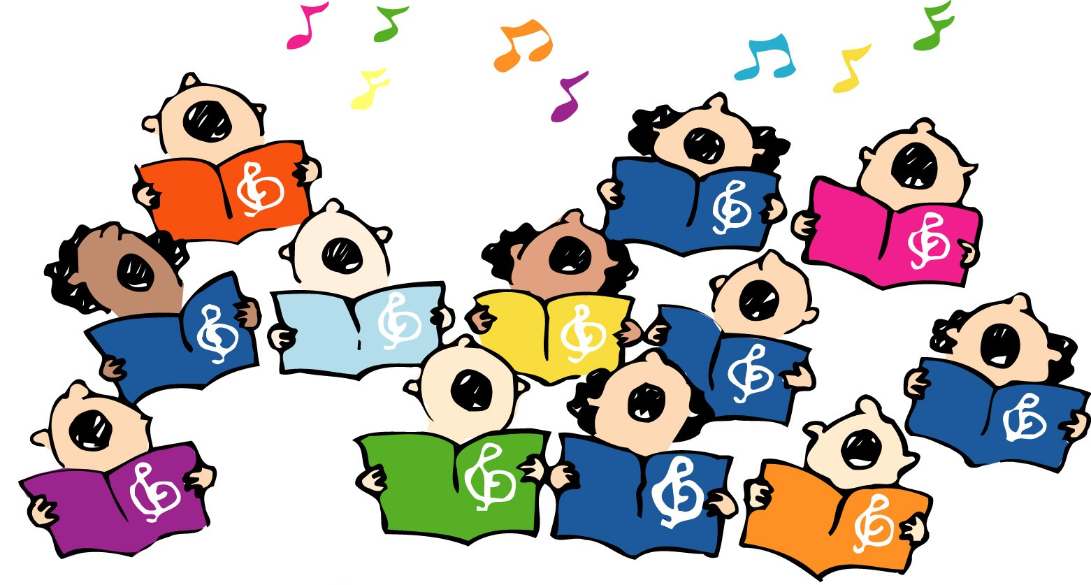 graphic free library Chorus clipart music program. Free choir singers cliparts.