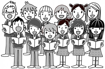 clipart freeuse library Choir clipart. Clip art free download.