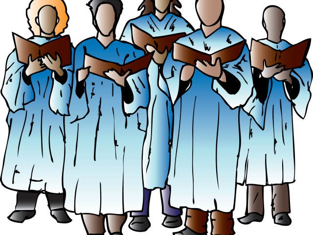 banner stock Choir clipart. Speech free for download
