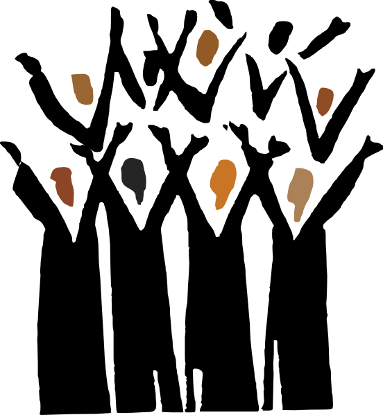 vector royalty free Youth clipart speech choir. Gospel clip art at