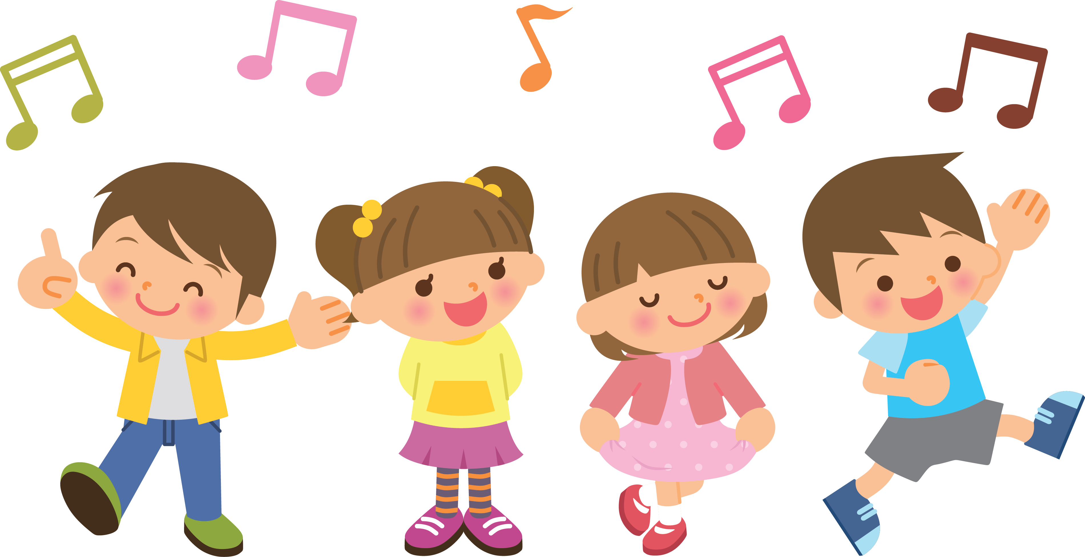 png free library Chorus clipart music program. Kids choir physic minimalistics.